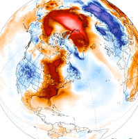 North Pole surges above freezing in the dead of winter, stunning scientists