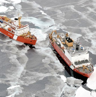 As  the Arctic melts, new technologies predict where sea ice will be
